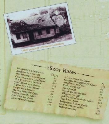 Rates, as mentioned, and 1880's Postcard ...Dowden's Ordinary image. Click for full size.