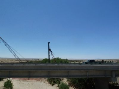Rio Puerco Bridge - view south image. Click for full size.