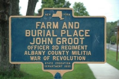 John Groot Marker image. Click for full size.