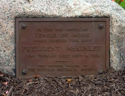 Detail of the President McKinley Marker image. Click for full size.