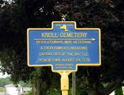 Knoll Cemetery Marker image. Click for full size.