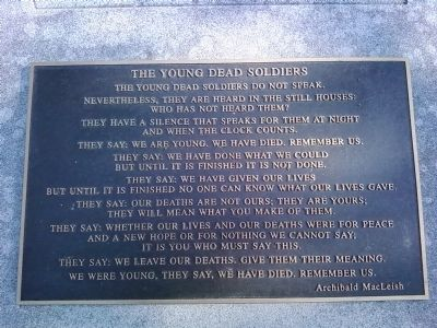 """The Young Dead Soldiers"" image. Click for full size."
