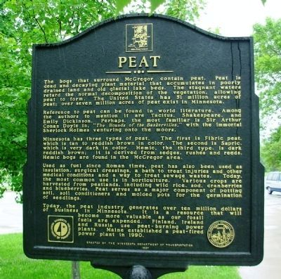 Peat Marker (side 2) Photo, Click for full size