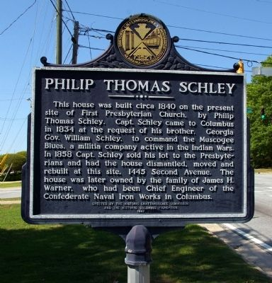 Philip Thomas Schley Marker image. Click for full size.