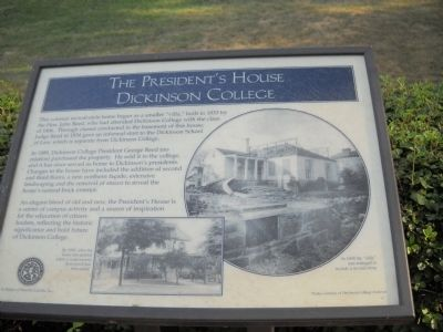 The President's House Marker image. Click for full size.