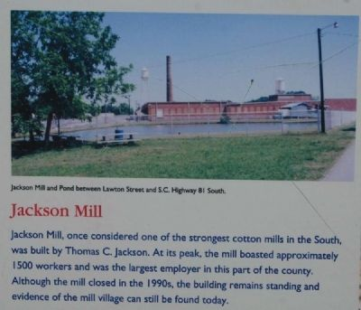 Iva Marker<br>Jackson Mill image. Click for full size.