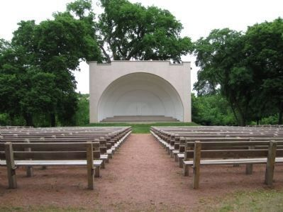 "Donald I. ""Sarge"" Boyd Band Shell image. Click for full size."