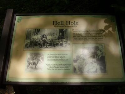 Hell Hole Marker image. Click for full size.