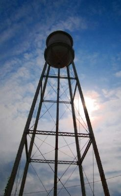 Jackson Mill Water Tower image. Click for full size.