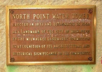 North Point Water Tower image. Click for full size.