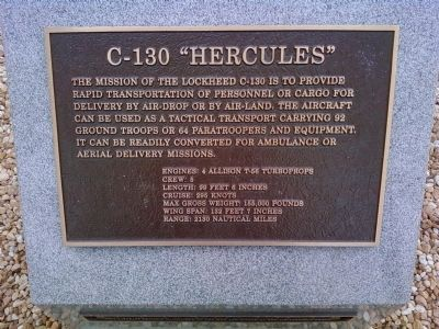 "C-130 ""Hercules"" Marker image. Click for full size."