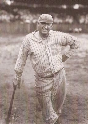 "Joseph Jefferson<br>""Shoeless Joe"" Jackson<br>1888&#8211;1951 image. Click for full size."