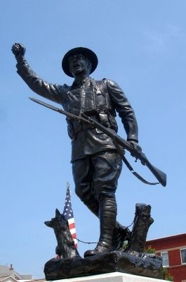 """Spirit of the American Doughboy"" Statue image. Click for full size."
