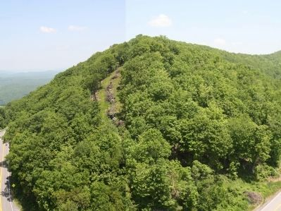 Walker Mountain From the Observation Tower Photo, Click for full size