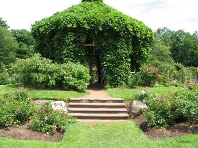 Gazebo in the Elizabeth Park Rose Garden image. Click for full size.