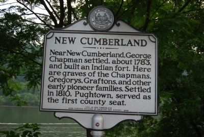 New Cumberland Marker image. Click for full size.