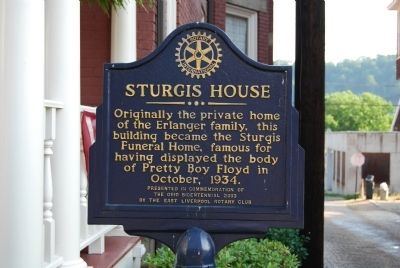 Sturgis House Marker image. Click for full size.