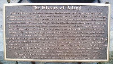 The History of Poland Marker image. Click for full size.