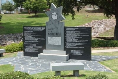 The Columbia Holocaust Memorial Monument image. Click for full size.