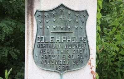 Col. E. H. Phelps Marker image. Click for full size.