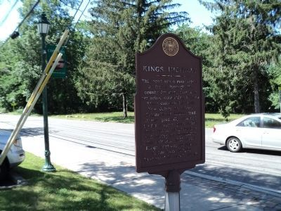 Kings Highway Marker image. Click for full size.