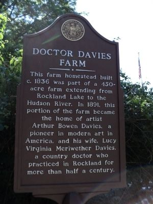 Doctor Davies Farm Marker image. Click for full size.