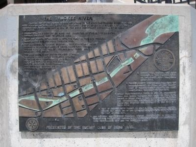 The Truckee River Marker image. Click for full size.