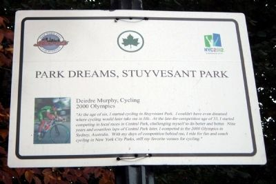 Park Dreams, Stuyvesant Park Marker image. Click for full size.