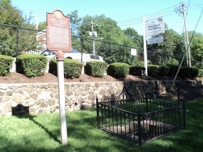 West Nyack's Last Horse Trough and Marker Photo, Click for full size