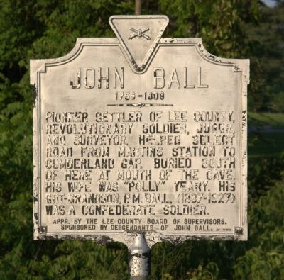 John Ball Marker image. Click for full size.