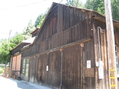 Downieville Foundry and Marker image. Click for full size.