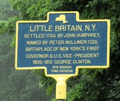 Little Britain, N.Y. Marker image. Click for full size.