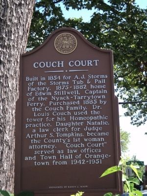 Couch Court Marker Photo, Click for full size