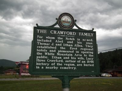 The Crawford Family Marker image. Click for full size.