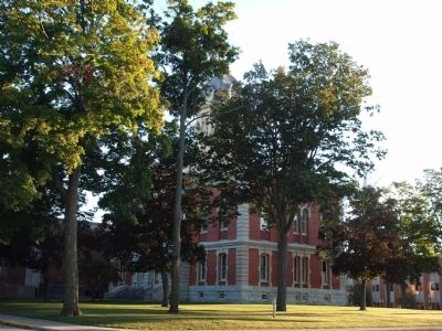 South/West Corner - - Marshall County Courthouse image. Click for full size.