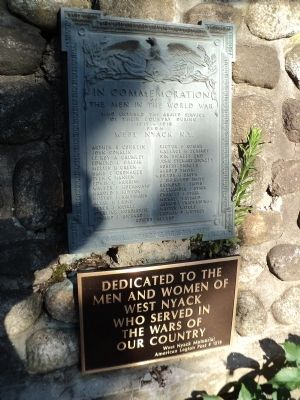 West Nyack World War I Memorial image. Click for full size.