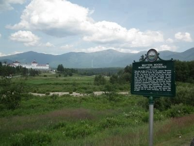 Mount Washington Hotel and Marker image. Click for full size.