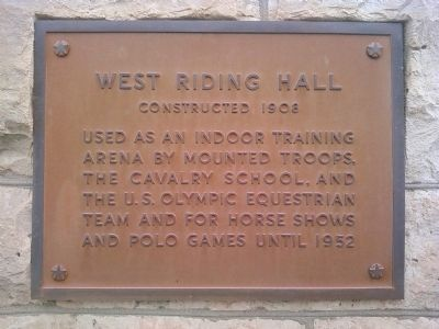 West Riding Hall Marker image. Click for full size.