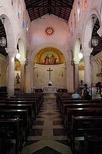 The Church of St. Joseph, upper interior image. Click for full size.