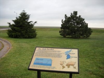 38th Parallel Marker image. Click for full size.