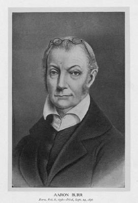 Aaron Burr (1756–1836) Photo, Click for full size