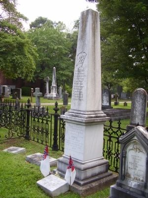 Grave of Stephen D. Ramseur image. Click for full size.