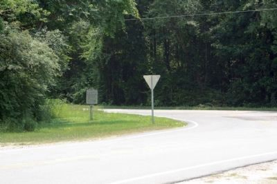Battle of Boykin's Mill Marker seen at Boykin Road (State Road 261) and Boykin Mill Road Photo, Click for full size