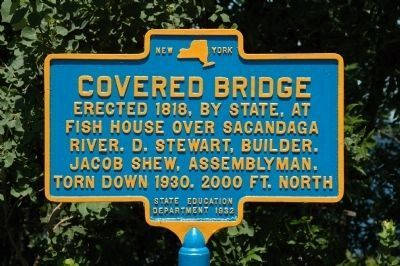 Covered Bridge Marker image. Click for full size.