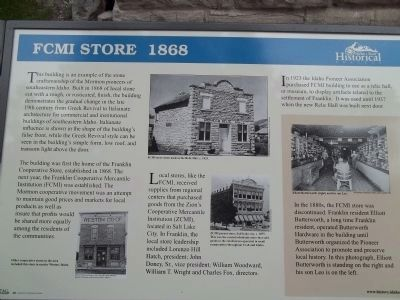 FCMI Store Marker image. Click for full size.