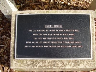 Smoke House Marker image. Click for full size.