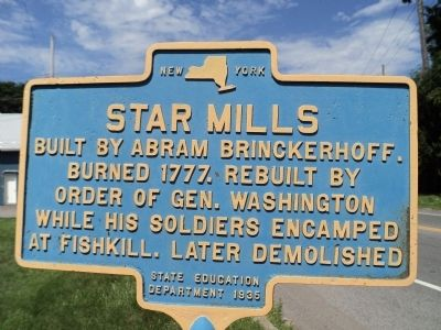 Star Mills Marker image. Click for full size.