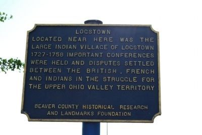 Logstown Marker image. Click for full size.