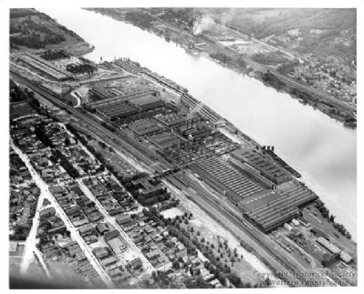American Bridge Company Plant Photo, Click for full size