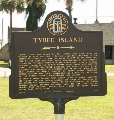 Tybee Island Marker image. Click for full size.